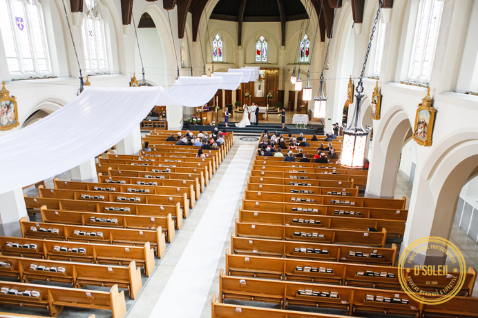 St. Augustine Catholic wedding ceremony venue