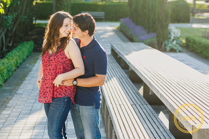 Engagement session at Hastings Park Vancouver