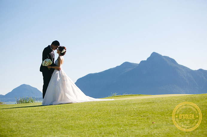 furry creek golf wedding photos