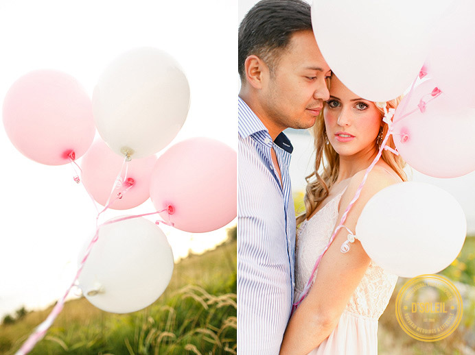 Balloon engagement sessions