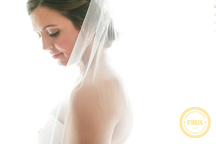 natural light bridal wedding portraits