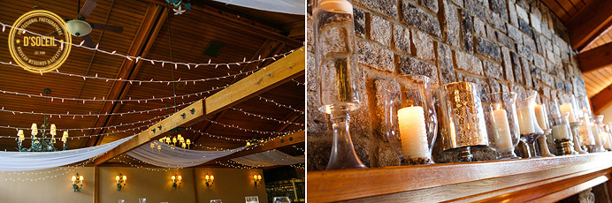 Hazelmere wedding reception decor