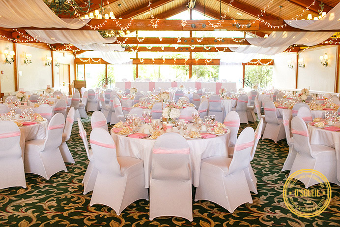 Hazelmere wedding reception room decor