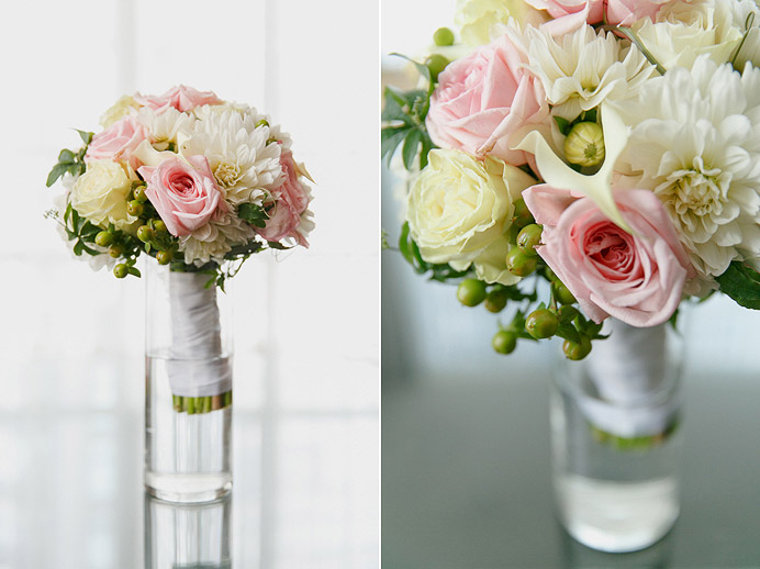 Loden Hotel bridal flowers