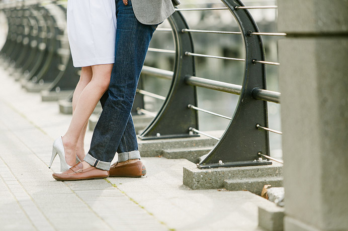 Coal Harbour Engagement Session