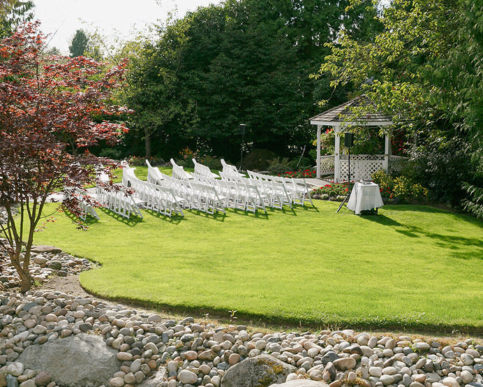 University Golf Club UBC Outdoor Wedding Venue