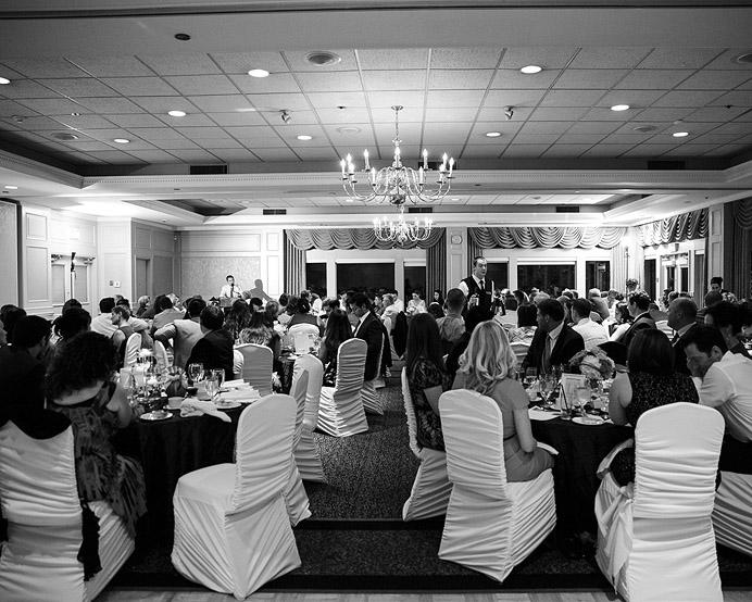 UBC Golf wedding venue room