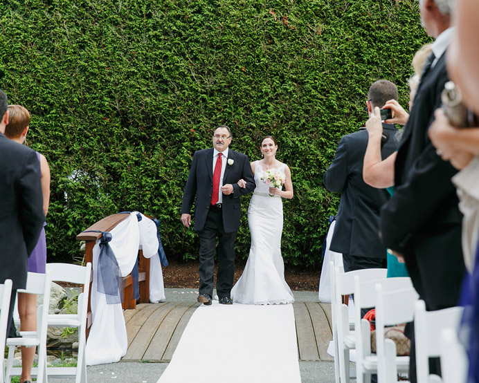 University Golf Club wedding ceremony