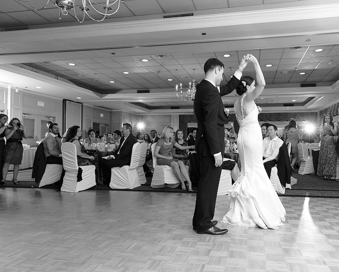University Golf Club wedding dance floor