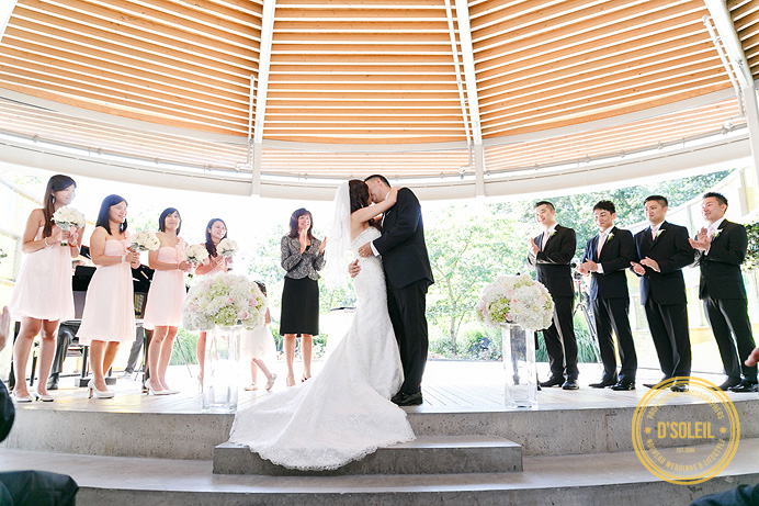 Celebration pavilion wedding ceremony