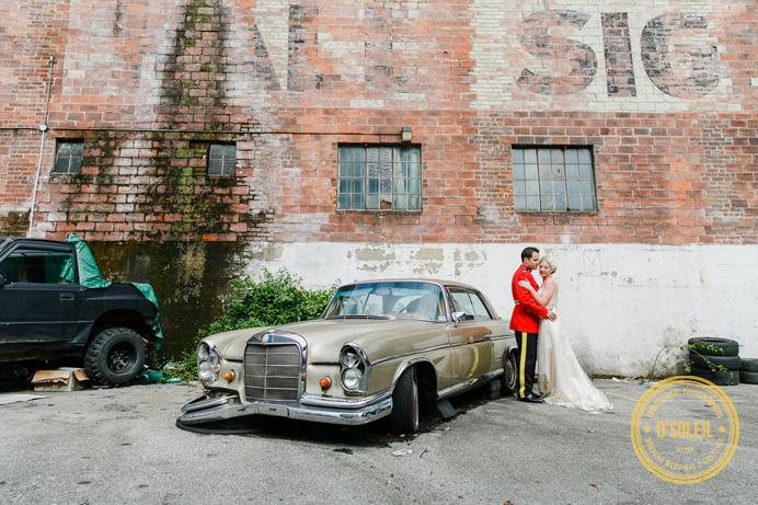 RCMP wedding Vancouver