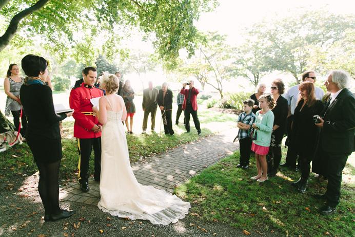 English Bay wedding RCMP