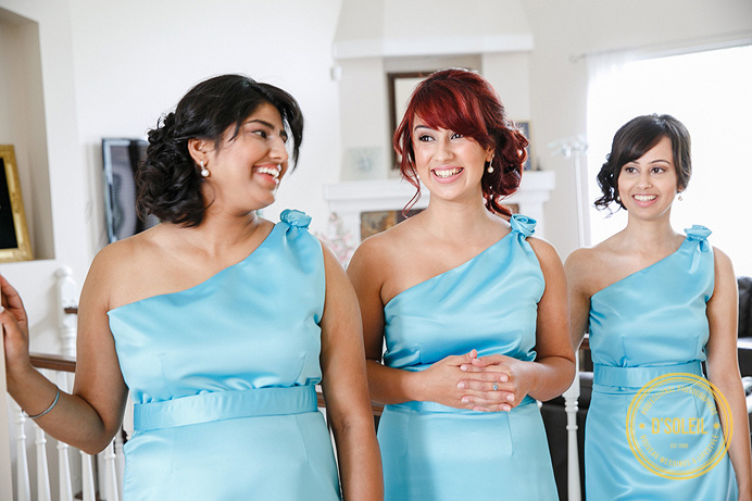 Bridesmaids dresses from Lisa's Bridal