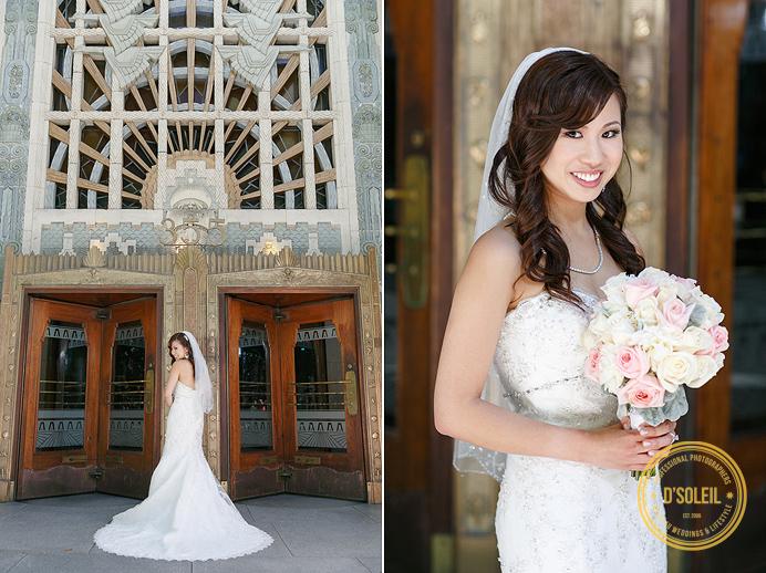 Marine Building classic wedding