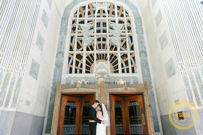 Classic architecture building wedding