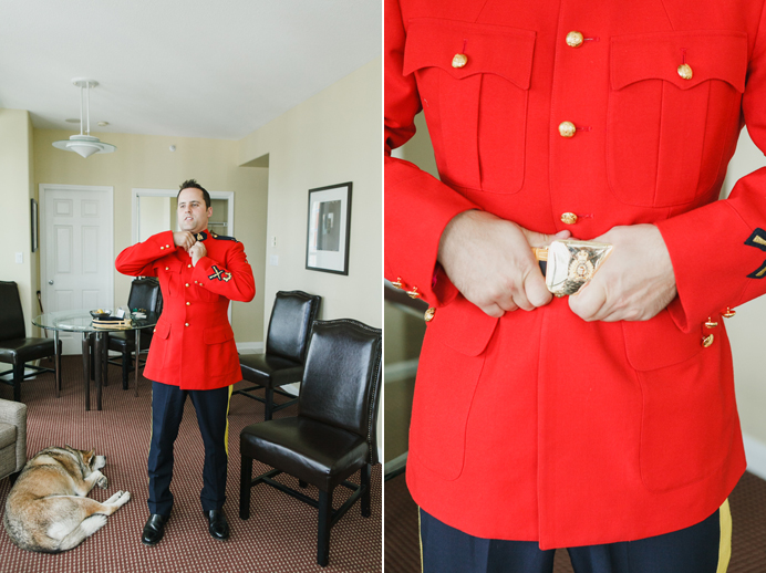 RCMP wedding serge