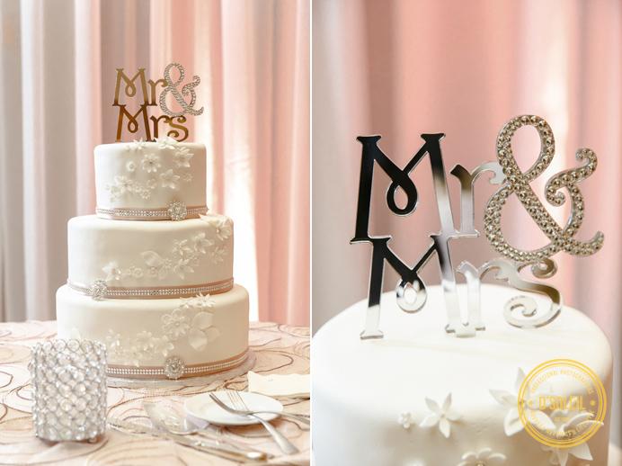 Renaissance Hotel Vancouver Wedding Cake