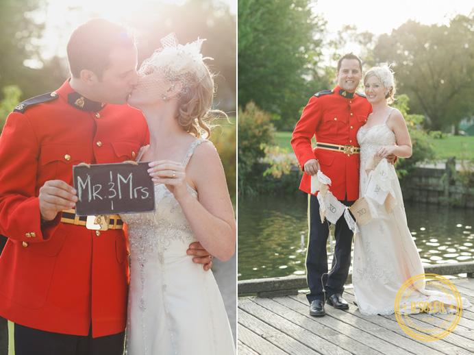 RCMP Vancouver park wedding