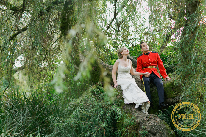 Vancouver park wedding RCMP