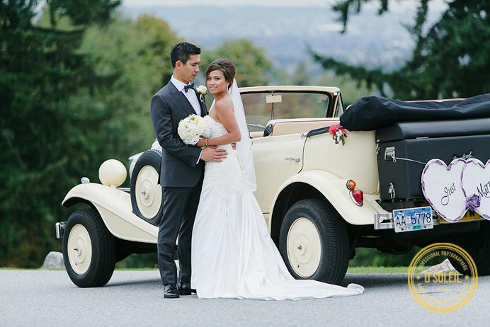A Stylist Arrival wedding Westwood Plateau