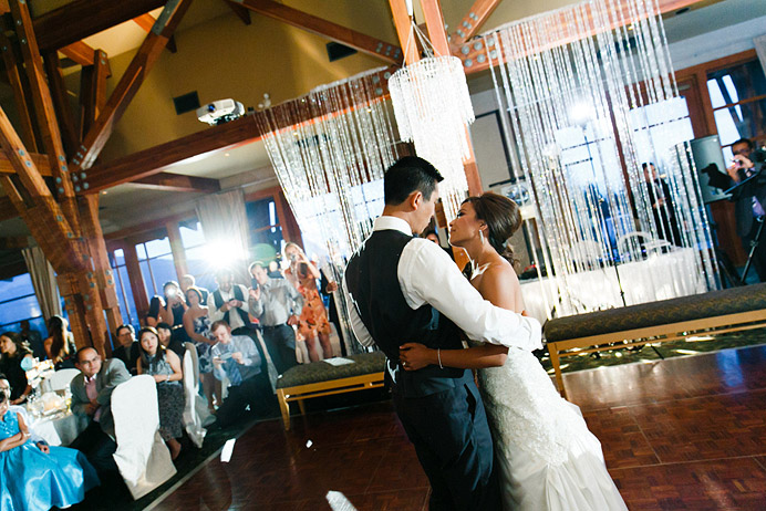 First dance at Westwood Plateau wedding