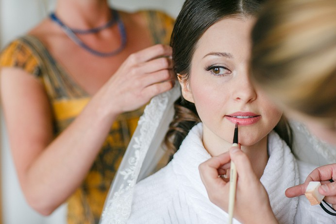 Felicia Bromba makeup wedding