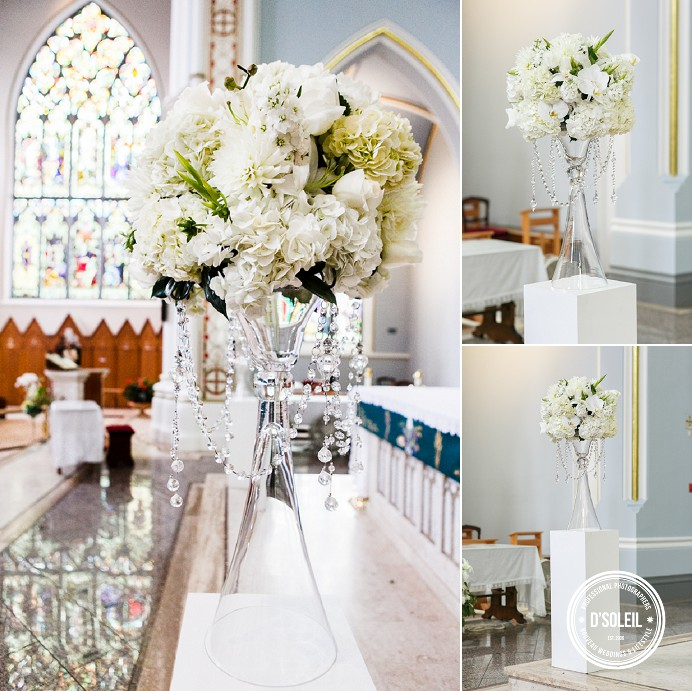 Rosary cathedral wedding