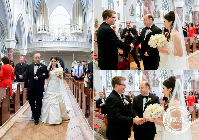 Holy Rosary Cathedral Wedding Ceremony