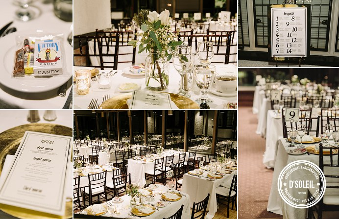 Brock House wedding venue decor
