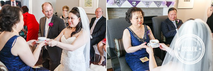 Chinese tea ceremony wedding Surrey