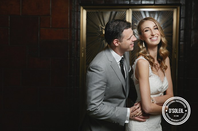 Mid-century modern Vancouver wedding
