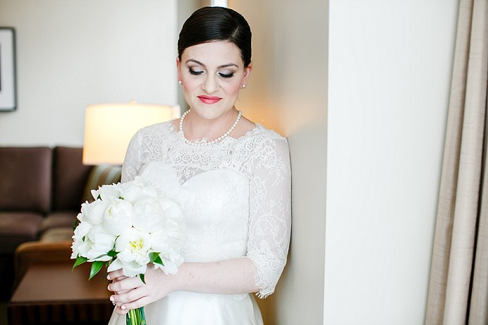 Bride at Terminal City Club Hotel