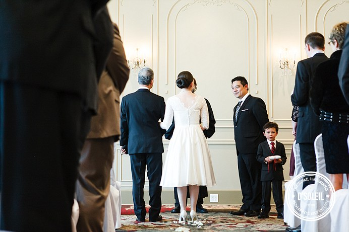 Terminal City Club wedding ceremony