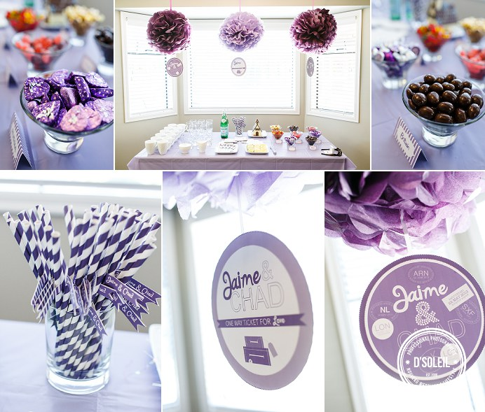 Vancouver candy tables wedding