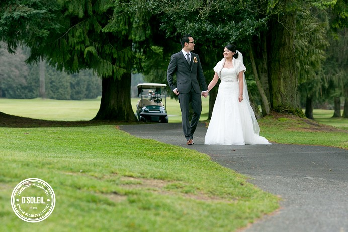 Vancouver Golf Club wedding