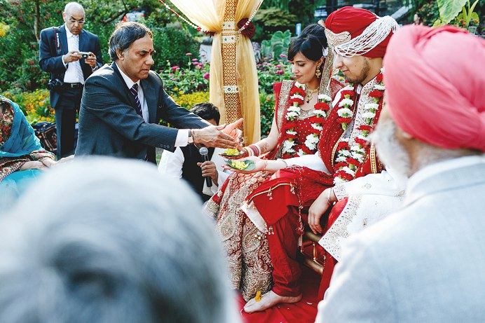 Stanley Park Pavilion Indian wedding ceremony