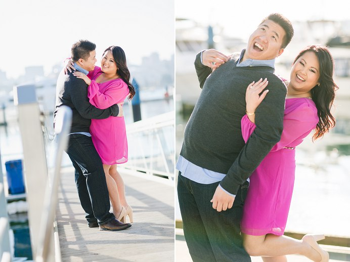 False Creek engagement session