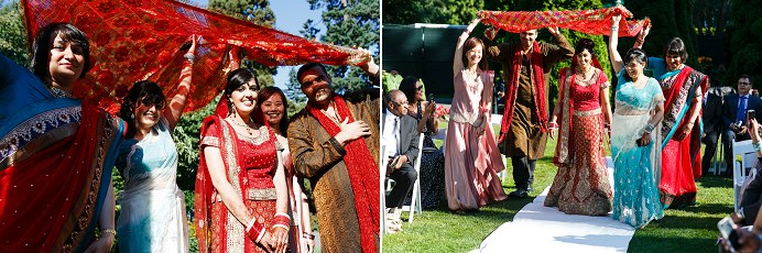 Stanley Park Pavilion wedding ceremony