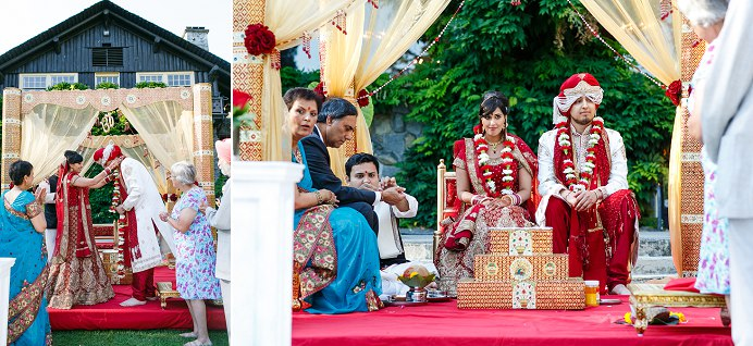 Stanley Park Pavilion wedding Sikh and Hindu ceremony