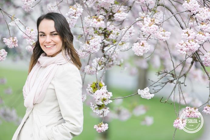 cherry blossom portraits