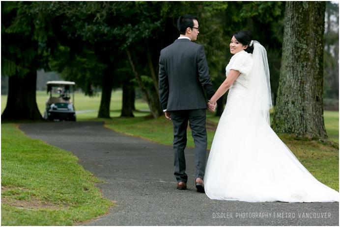 vancouver golf club coquitlam wedding