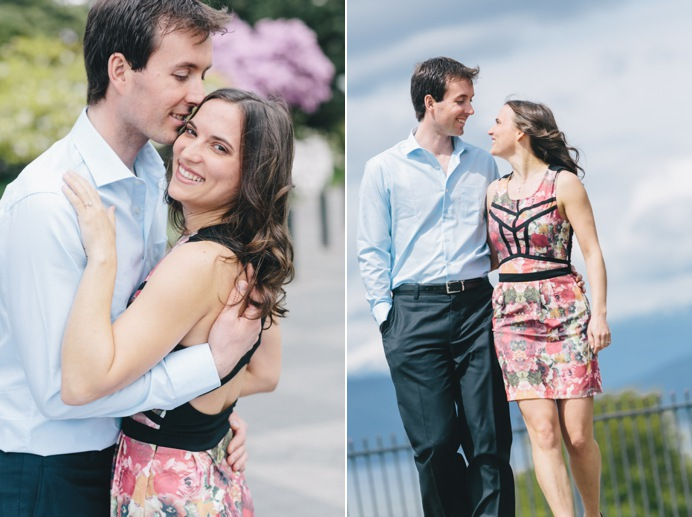 Wedding engagement photos at UBC