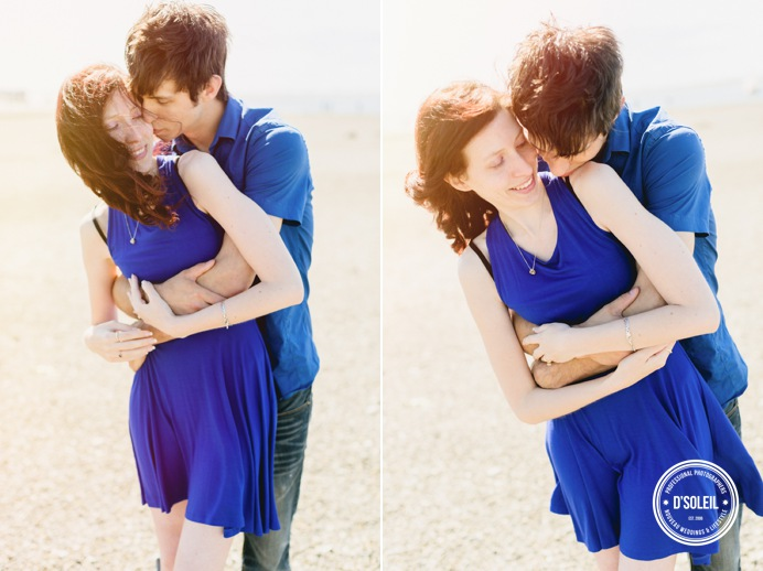 Love at the beach, engagement session Surrey Vancouver