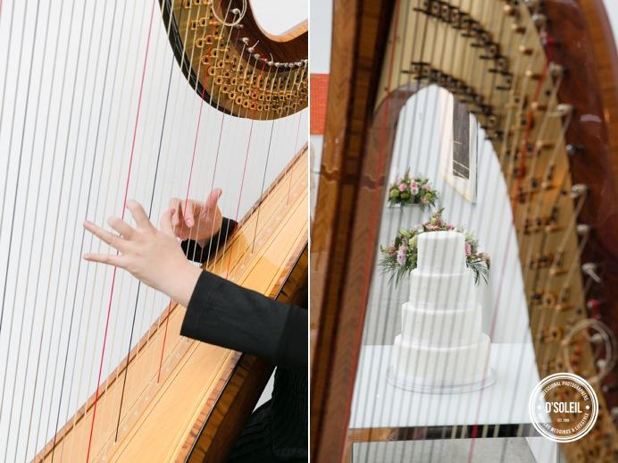 Vancouver wedding harpist