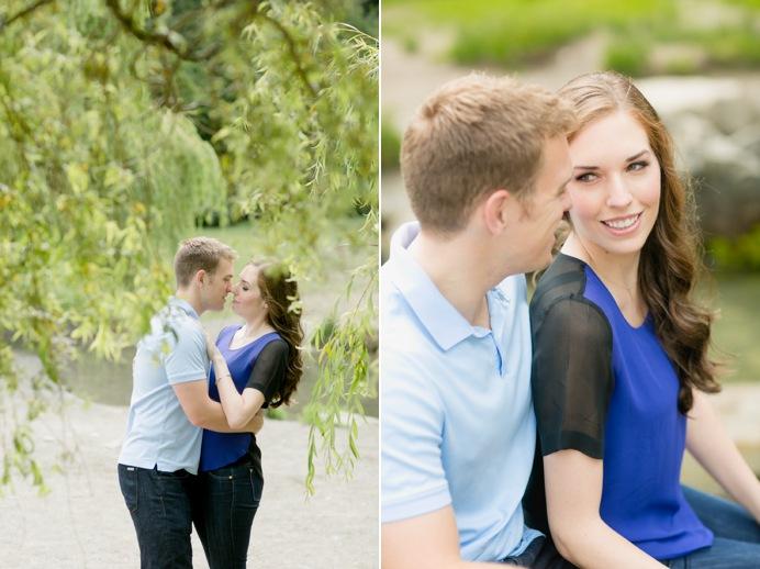 Vancouver false creek portrait with couple