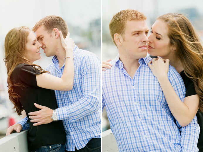 engagement session at false creek vancouver