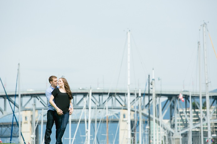 granville street bridge engagement