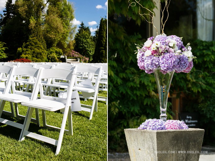 Outdoor venue decor Stanley Park