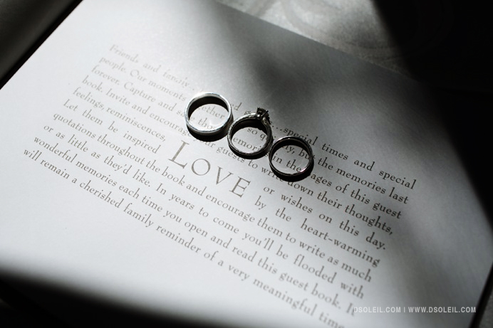 wedding rings creative photos