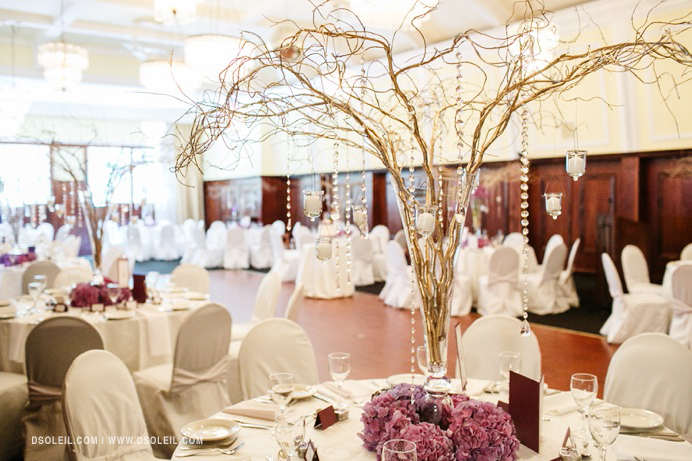 Stanley Park Pavilion venue decor